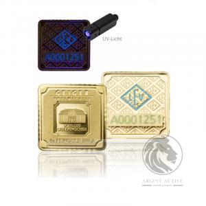 Lingouri-aur-pur-25-x-1-gram-Geiger-Multicard-capsula-lingouri-aur-monede-aur-pur-investitii-metale-pretioase-educatie-financiara-UV