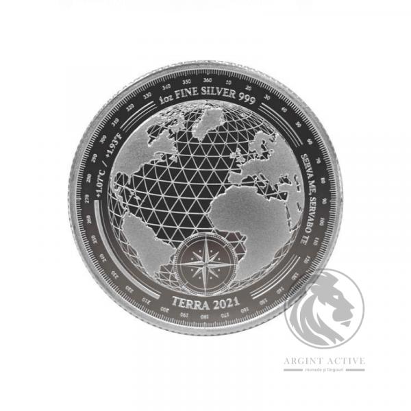 Moneda-argint-pur-31-grame-Terra-lingouri-argint-monede-argint-pur-investitii-metale-pretioase-educatie-financiara