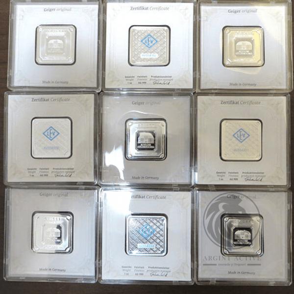 lingou-argint-pur-31-grame-Geiger-capsula-lingouri-argint-monede-argint-pur-investitii-metale-pretioase-educatie-financiara
