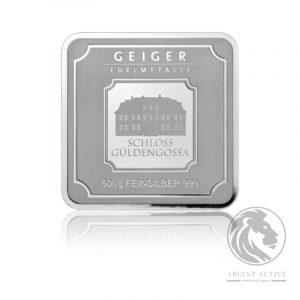 Lingou argint pur GEIGER 500 grame