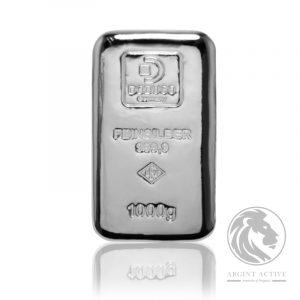 Lingou argint pur 999 Lev Doduco 1 kg