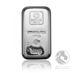 Lingou argint pur 999 Lev Doduco 500 grame