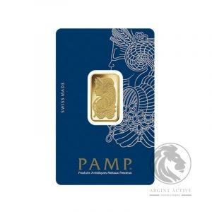 Lingou aur 24K PAMP 10 grame