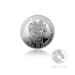 Moneda argint Arca lui Noe 7,7 gr 1/4 oz