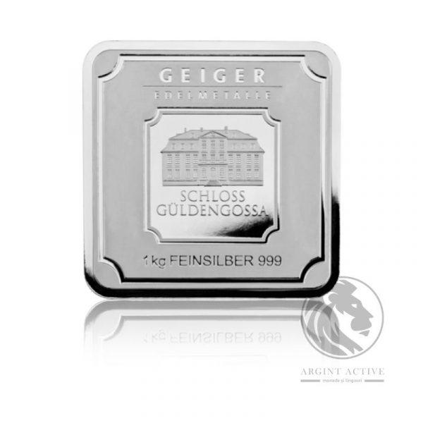 lingou argint pur 1 kg Geiger