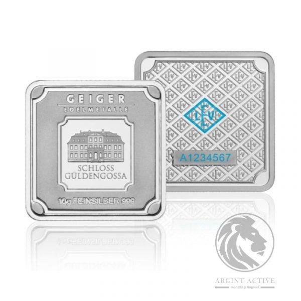 lingou argint pur 10 grame 10oz Geiger