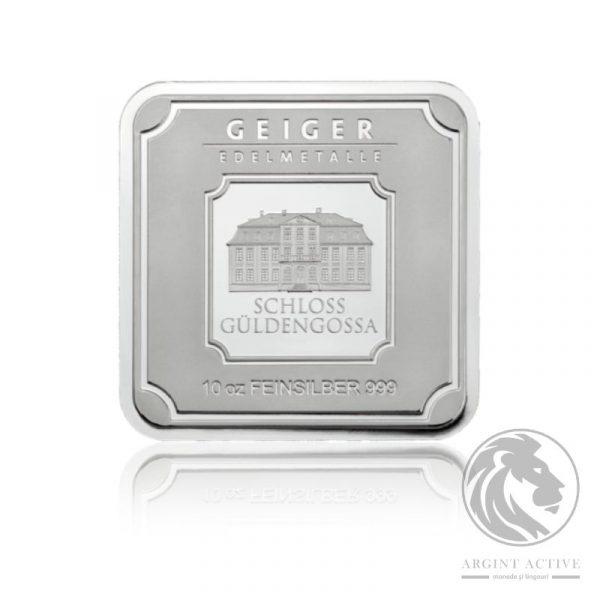 lingou argint pur 311 grame 10oz Geiger