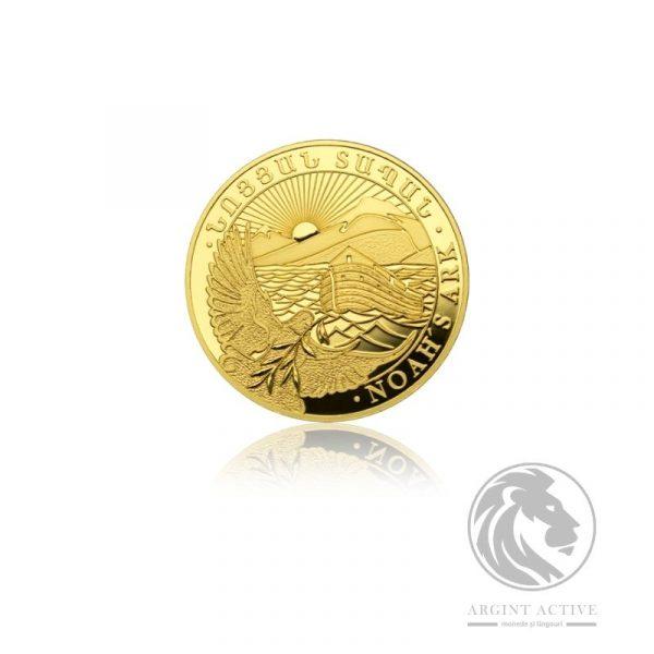 Moneda aur 24K Arca lui Noe 1 gram