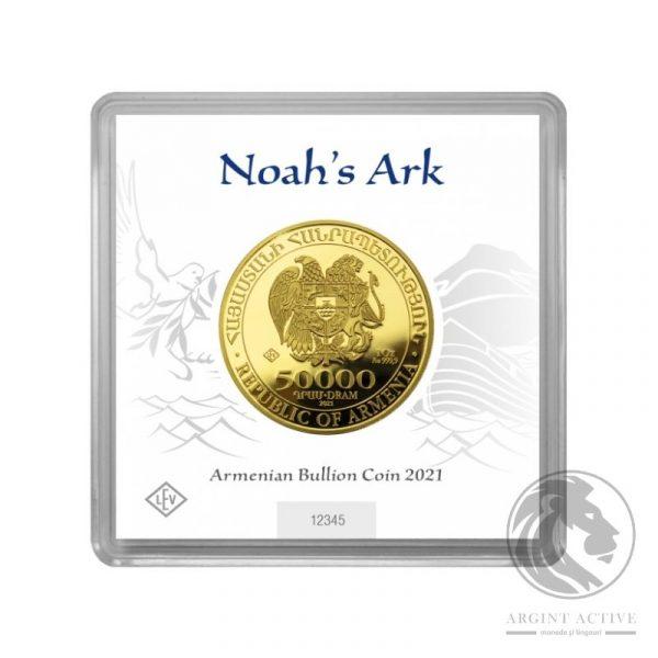 Moneda aur 24K Arca lui Noe