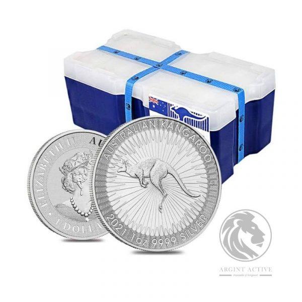 Monster box 250 monede argint Australian Kanagaroo