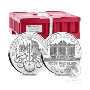 monster box 500 monede argint